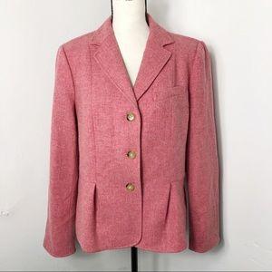 Talbots Wool Three Button Blazer Jacket 16